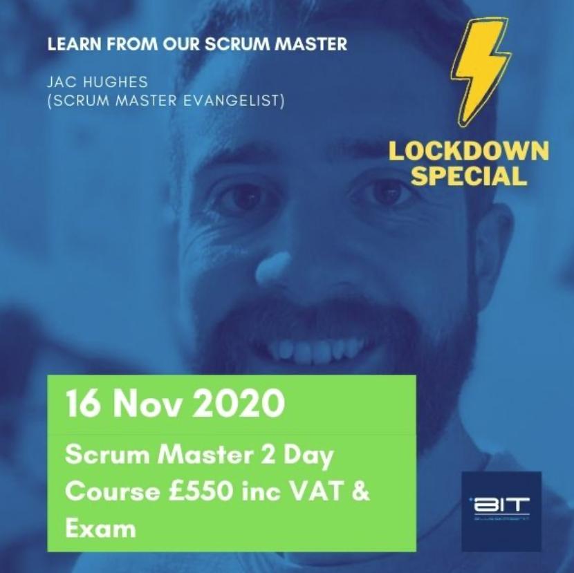 Scrum master course- Jac Hughes