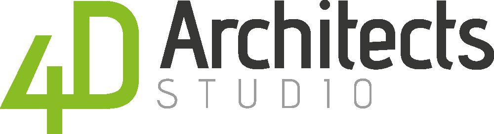 4D Architects Studio Logo